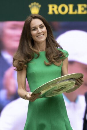 Kate Middleton - 2021 Wimbledon Tennis Championships in London