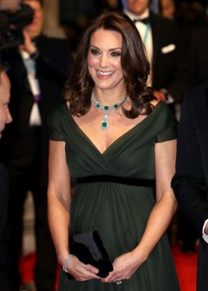 Kate Middleton - 2018 BAFTA Awards in London