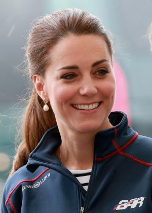 Kate Middleton - America's Cup World Series event in Portsmouth