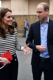 Kate Middleton and Prince William - Arrives to launch the King's Cup Regatta