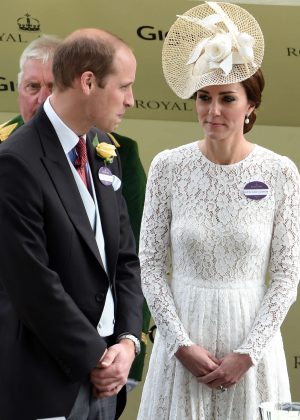 Kate Middleton and Prince William - Day 2 of Royal Ascot at Ascot Racecourse in Ascot