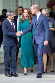 Kate Middleton and Prince William - Visit the Aga Khan Centre in London