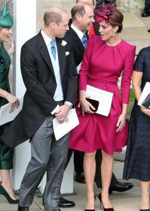 Kate Middleton and Prince William - Wedding of Princess Eugenie of York to Jack Brooksbank
