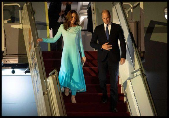 Kate Middleton 2019 : Kate Middleton – Arrives at Kur Khan airbase in Rawalpindi-04