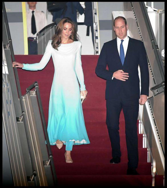 Kate Middleton 2019 : Kate Middleton – Arrives at Kur Khan airbase in Rawalpindi-28