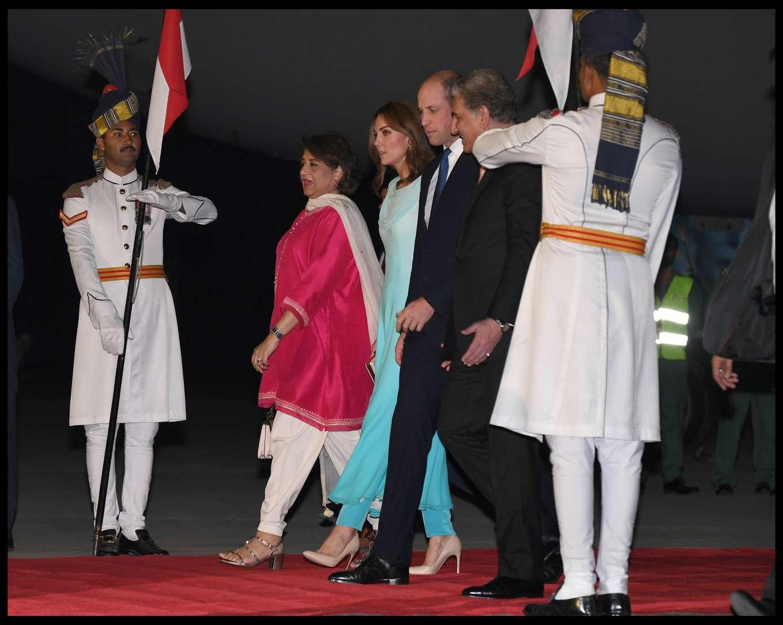 Kate Middleton 2019 : Kate Middleton – Arrives at Kur Khan airbase in Rawalpindi-46