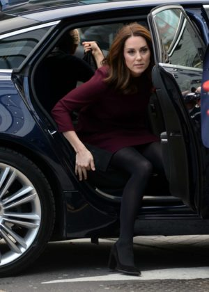 Kate Middleton - Arrives at UBS Building in London