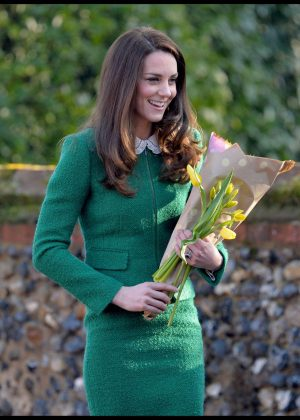 Kate Middleton - Arrives for her visit to East Anglia's Children's Hospices in Quidenham