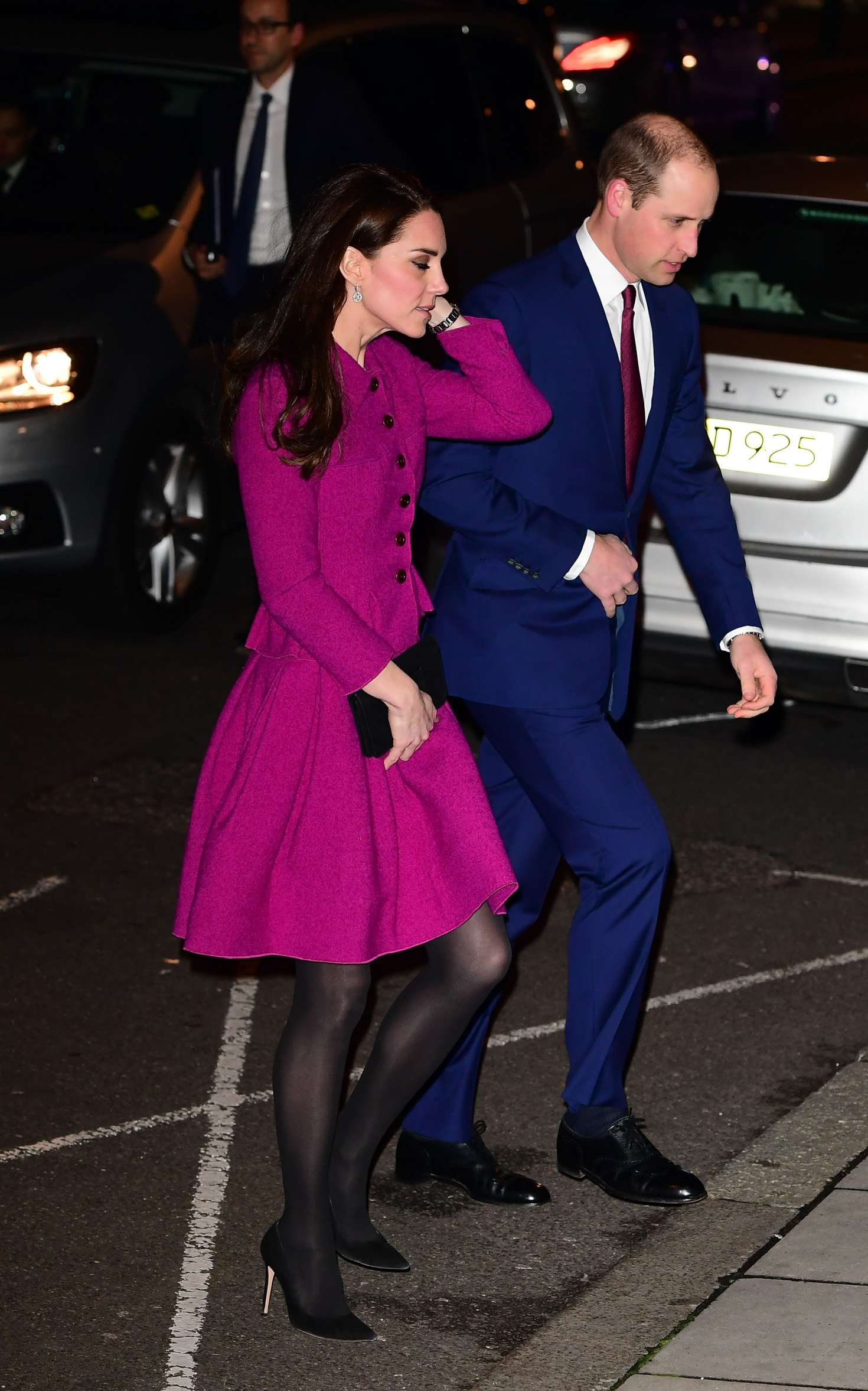 Kate Middleton Arriving At Chandos House For Thier