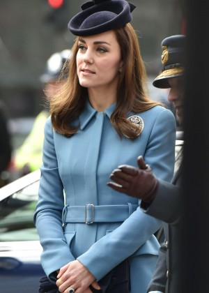 Kate Middleton at 75th Anniversary of the RAF Air Cadets in London