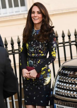 Kate Middleton at a briefing at the Institute of Contemporary Arts in London