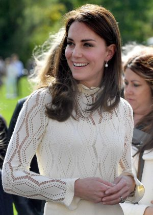 Kate Middleton at Buckingham Palace in London