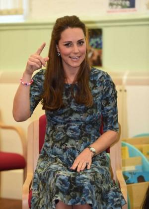 Kate Middleton at Cape Hill Children's Centre in Smethwick