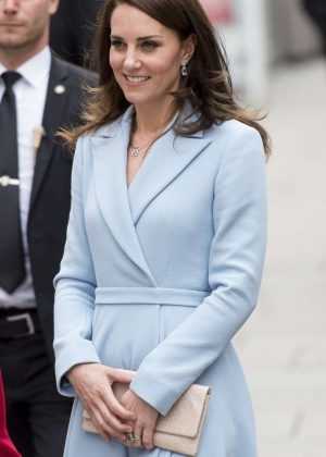Kate Middleton at City Museum in Luxembourg