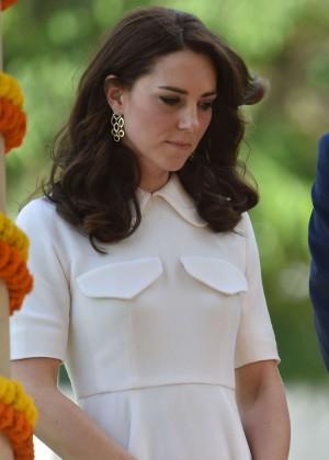 Kate Middleton at Gandhi Smriti in Delhi
