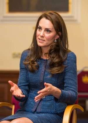 Kate Middleton at Kings College Hospital in south London
