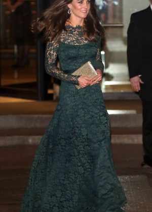 Kate Middleton at Portrait Gala 2017 Fundraising Dinner in London