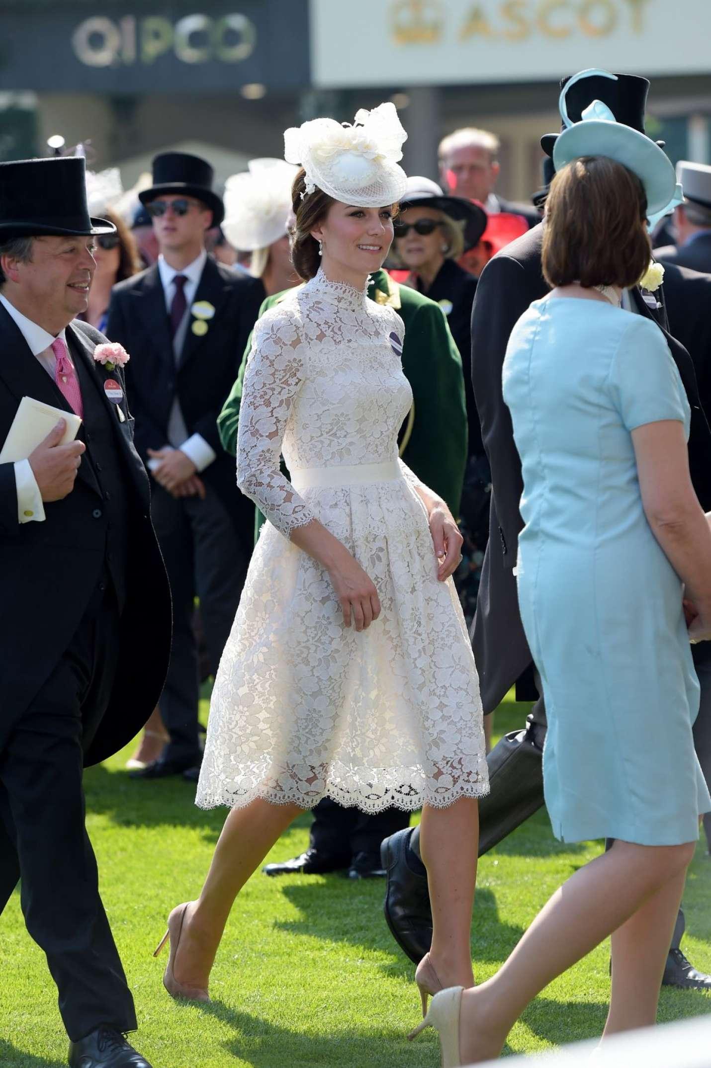 Kate Middleton at Royal Ascot 2017 -01   GotCeleb