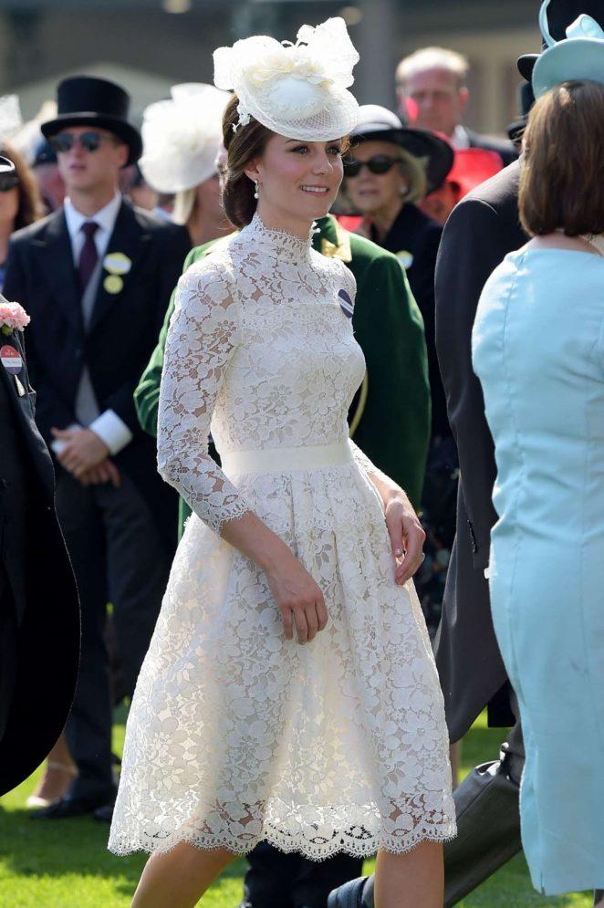 Kate Middleton At Royal Ascot 2017 In Berkshire Gotceleb