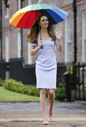 Kate Middleton - At the launch of the Royal Foundation Centre in London