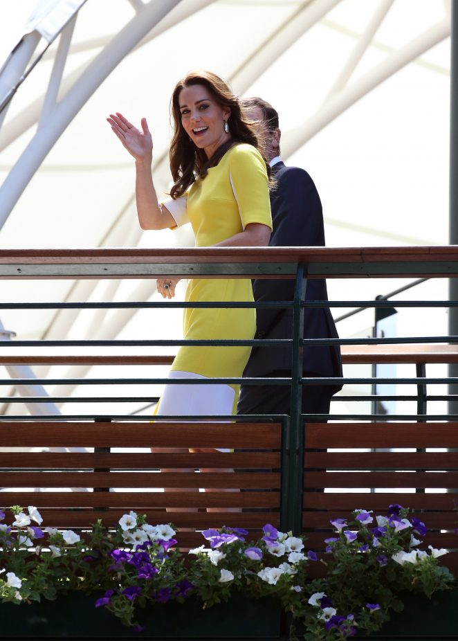 Kate Middleton At Wimbledon Championships 2016 07 Gotceleb