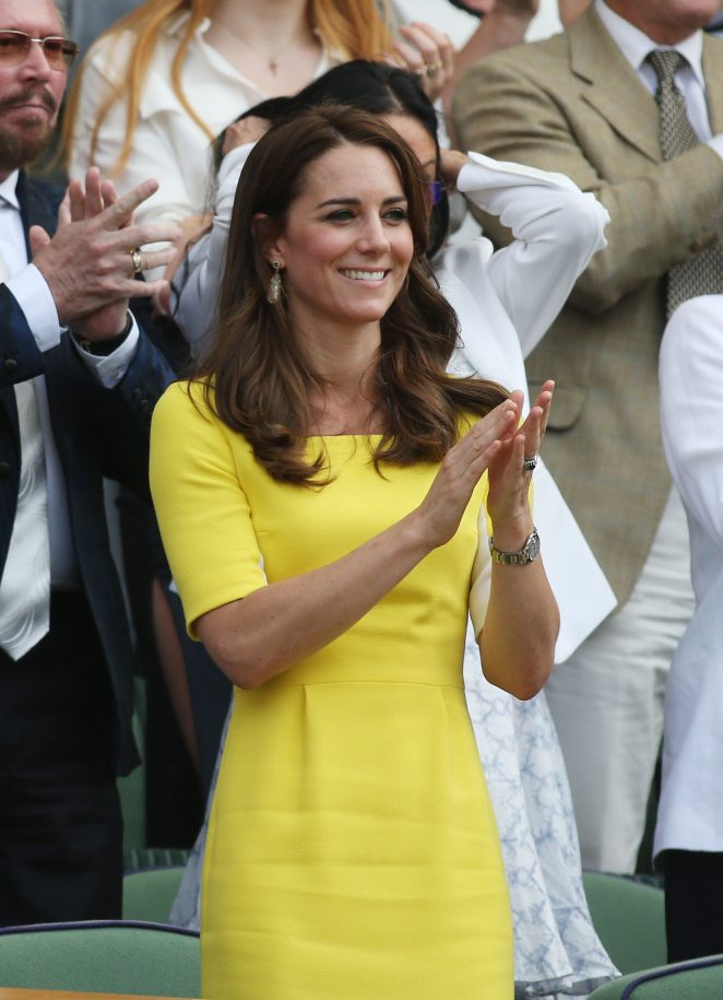 Kate Middleton at Wimbledon Championships 2016 in London