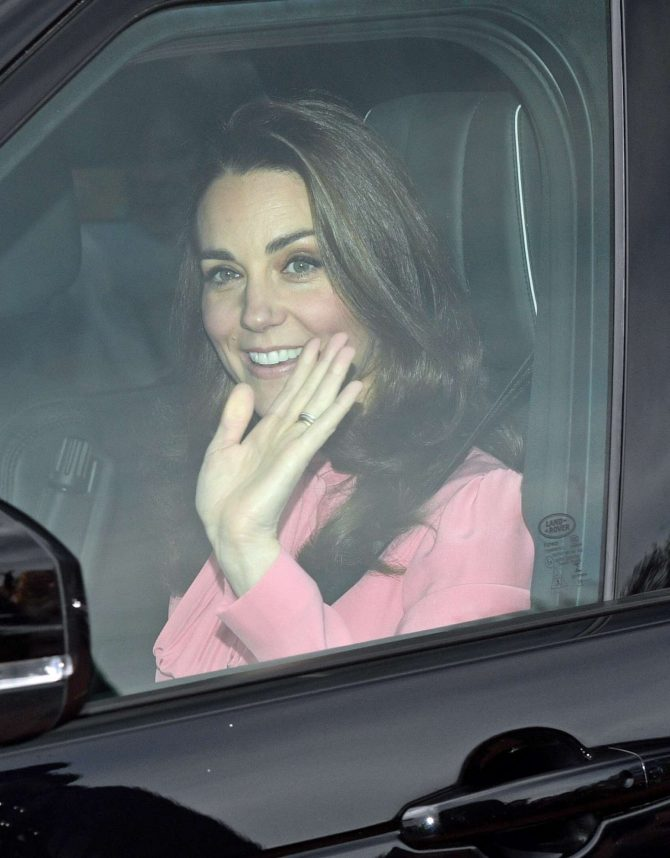 Kate Middleton – Attend the Queen's Christmas Lunch in London
