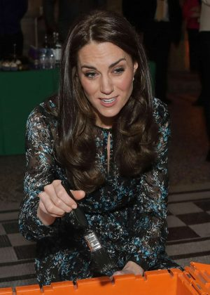 Kate Middleton - Attends a tea party in honour of 'Dippy' the Dinosaur in London