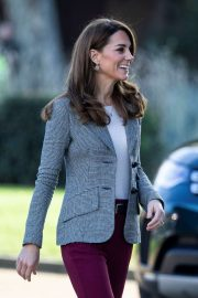 Kate Middleton - Attends Shout's Crisis Volunteer Celebration Event in London