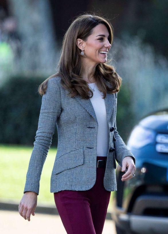 Kate Middleton - Attends Shout's Crisis Volunteer Celebration Event in London