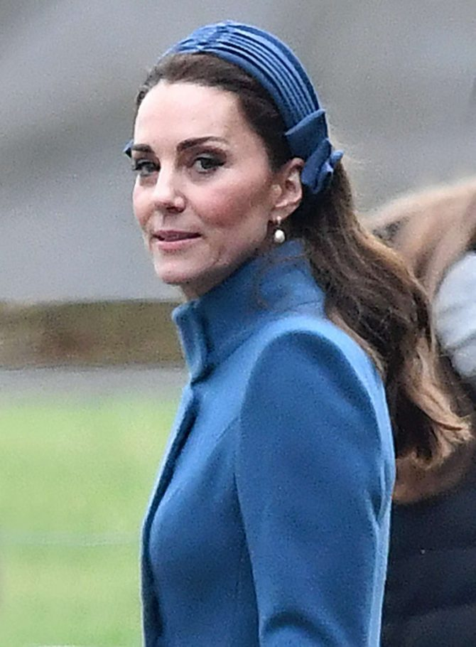 Kate Middleton – Attends Sunday Sservice in King's Lynn