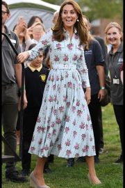 Kate Middleton - Attends the 'Back to Nature' festival in England