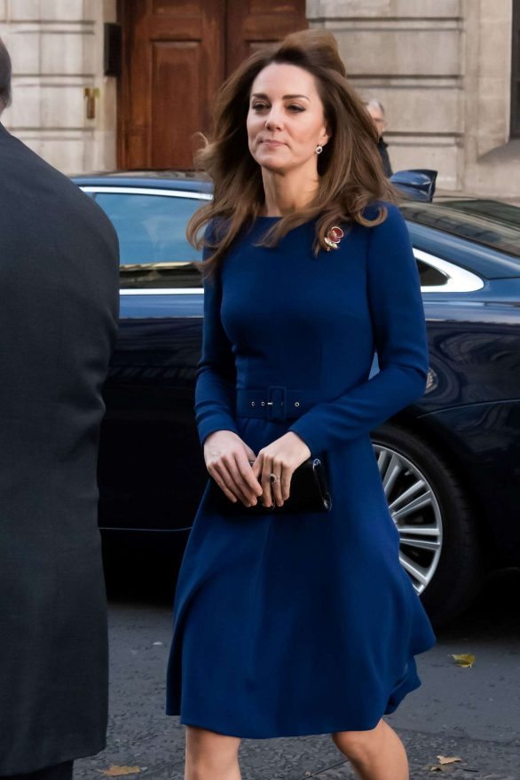 Kate Middleton - Attends the launch of the National Emergencies Trust in London