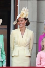 Kate Middleton - Attends the Trooping The Colour in London
