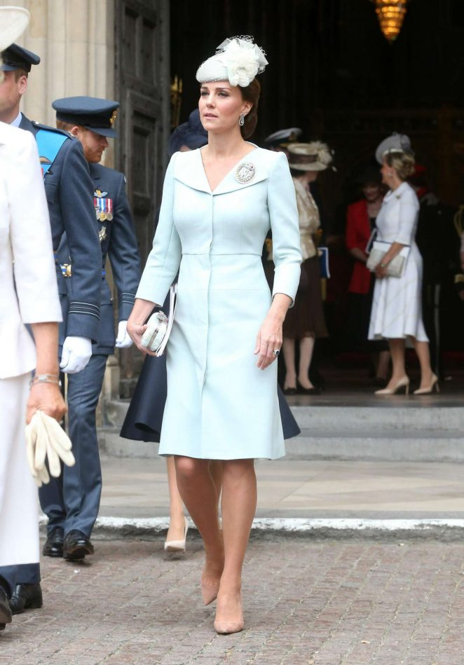 Kate Middleton - Cambridge 100th anniversary service RAF in in London