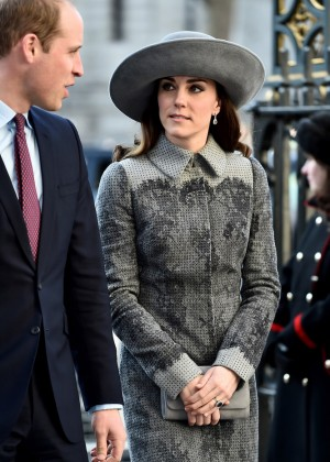 Kate Middleton - Commonwealth Observance Day Service in London