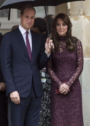 Kate Middleton during the Chinese State Visit in London