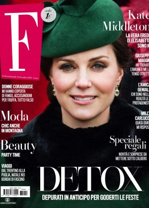 Kate Middleton - F Magazine (December 2018)