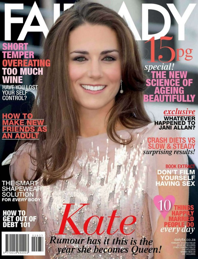 Kate Middleton - Fairlady Cover (February 2015)