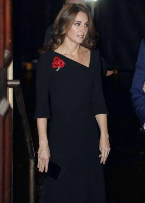 Kate Middleton - Festival of Remembrance in London