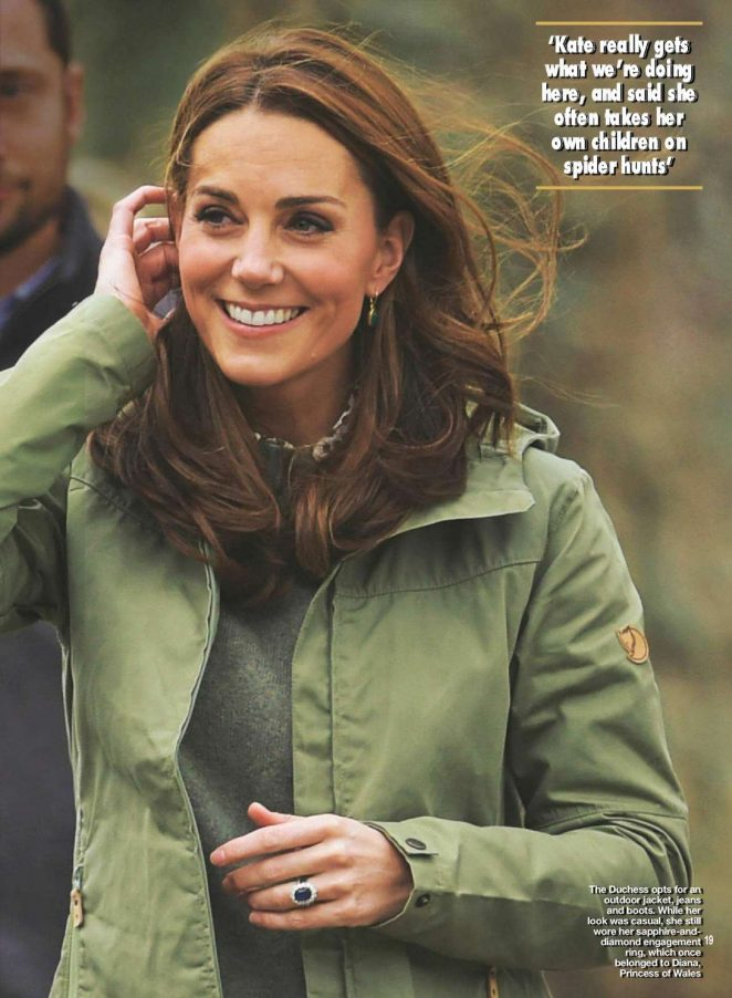 Kate Middleton for Hello UK Magazine (October 2018)