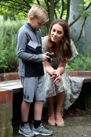 Kate Middleton - Joins a photography workshop for Action for Children in Kingston