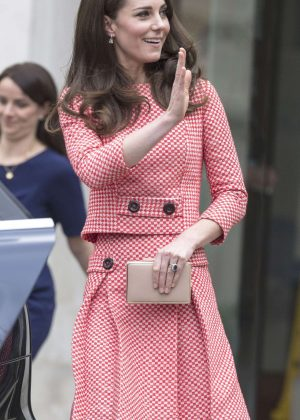 Kate Middleton - Launch of the 'Out of the Blue' Series in London