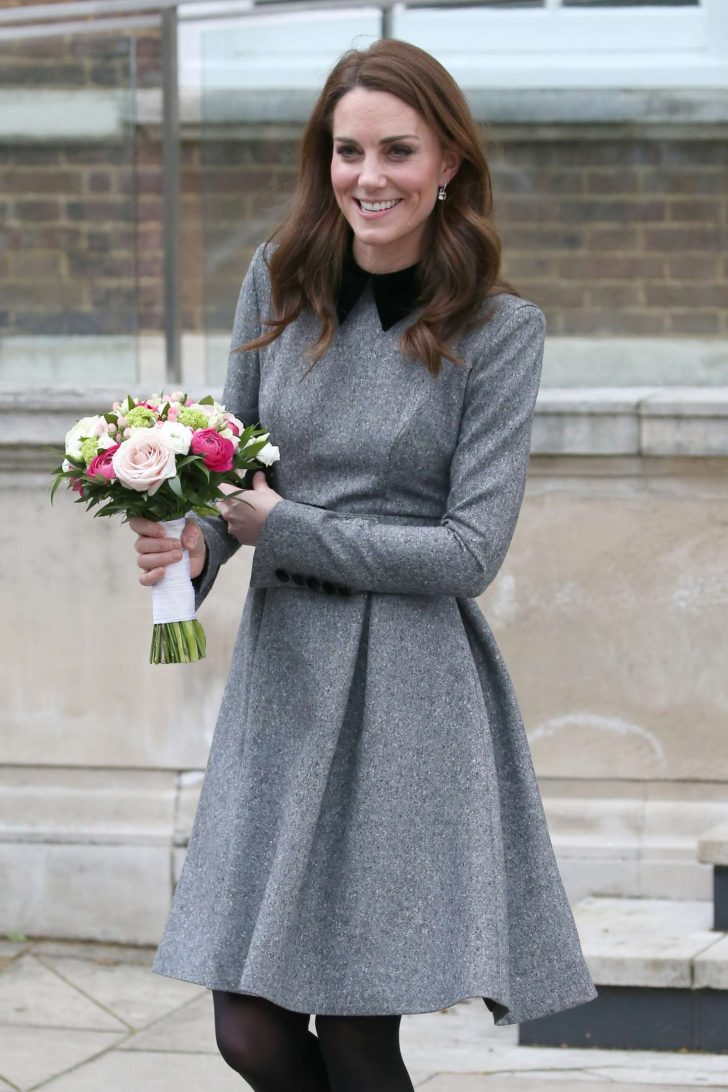 Kate Middleton - Leaving the Foundling Museum in London