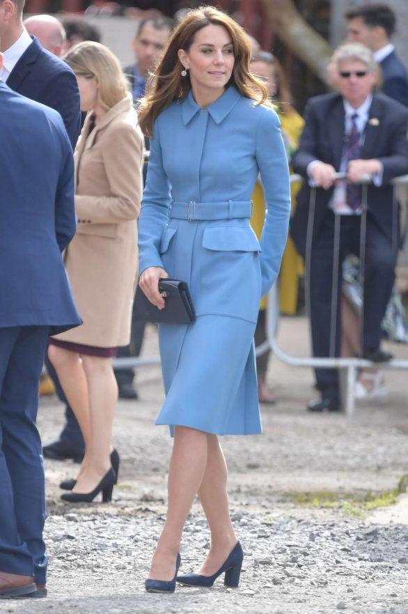 Kate Middleton - Naming Ceremony for The RSS Sir David Attenborough in Birkenhead
