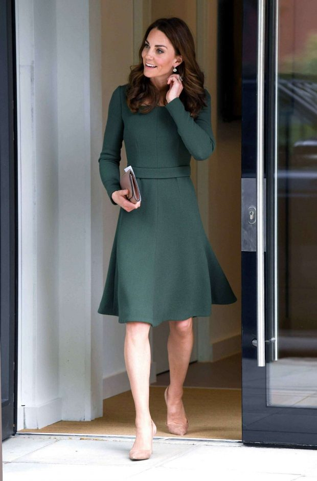 Kate Middleton - New Center of Excellence Opening in London