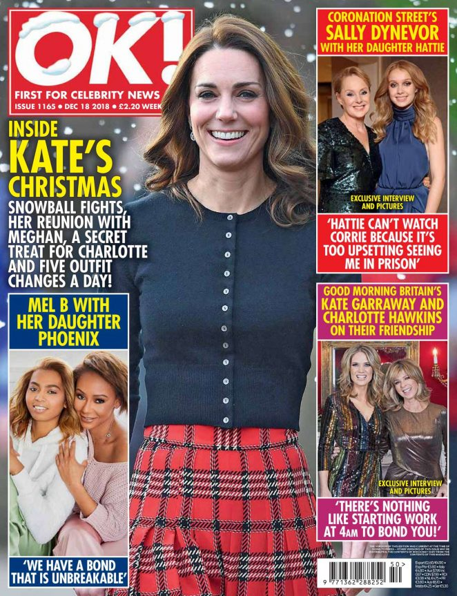 Kate Middleton – OK! Magazine UK (December 2018)