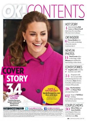 Kate Middleton - OK USA Magazine (January 2015)