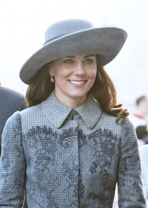 Kate Middleton on Commonwealth Day in Westminster