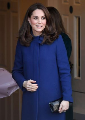 Kate Middleton - Opens an Action on Addiction Community Treatment Centre in Wickford